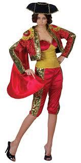 spanish matador lady bullfighter fancy dress costume