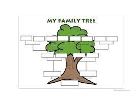 Family Tree Template Worksheet Free Esl Printable Worksheets Made Family Tree Template