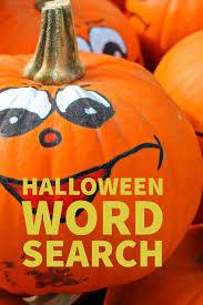Printable Halloween Crossword by Fun Halloween Word Search Printable Thrifty Mommas Tips