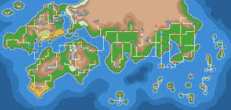 Sinnoh Map Flurmimons Spriteschrein Archiv Bisaboard