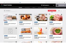 web cuisine app design for smart cuisine innovation studio rinnovation studio r