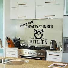 kitchen wall ideas 15 wonderful sticker ideas for kitchen wall design rilane