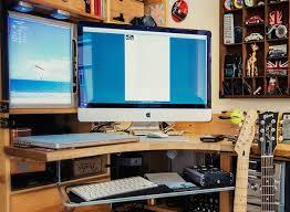 Programmer Desk Setup Fancy Photographers Desk Setup The Imac Setup Of A Musician And