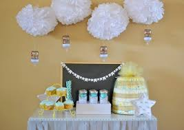 easy baby shower decorations easy clouds raindrops baby sprinkle decor hello splendid