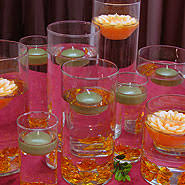 floating candle centerpiece ideas