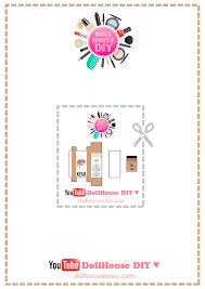 Miniature Jeffree Star Lipstick Dollhouse by