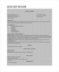 Environmental Engineer Resume Sample by Geologist Resume Template 6 Free Word Pdf Documents Download