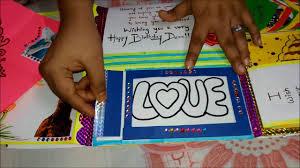 creative birthday card paper and handmade beautiful birthday