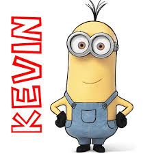 draw kevin minions movie 2015 simple step
