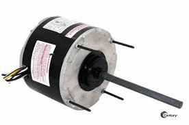 48y frame fan motor century fs1018 condenser fan motor 1 6hp 825rpm 208 230v 1ph 48y