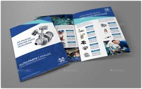 travel a4 bi fold brochure template