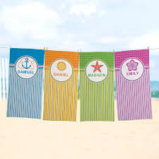 personalized towels personal creations