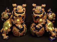 shishi statue statue japanese antiques ebay
