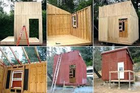free cabin plans with loft plans mini cabins plans