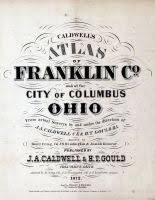 franklin county and columbus 1872 ohio historical atlas