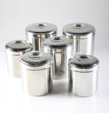 kitchen canisters sharda stainless steel kitchen canisters ebth