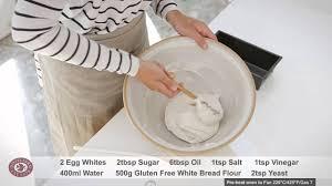 Vegan Gluten Free Bread Machine Recipe Gluten Free White Bread Recipe Doves Farm Youtube