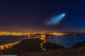 Light In The Sky California Ufo In La Turns Out To Be Missile Test Open Topic Discussion