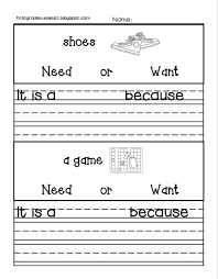 primary grades economic freebie great elementary lesson on wants