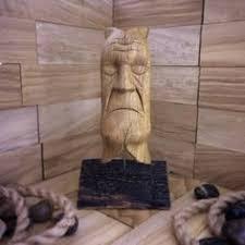 abstract modern wood sculpture dreamcatcher wood carving oak