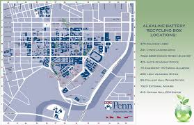 Scc Campus Map March 2011 Penn Green Campus Partnership
