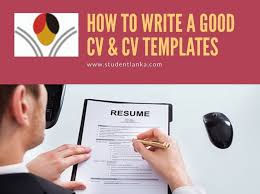 how to write a successful cv u0026 download cv templates