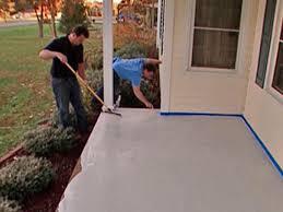 Cement Floor Paint Cement Porch Painting Ideas