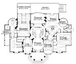classical style house plan 4 beds 4 00 baths 8100 sq ft plan