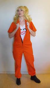 prison jumpsuit costume harley quinn arkham asylum prison jumpsuit squad