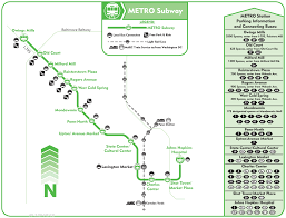 baltimore light rail map baltimore subway map metro mapsof net