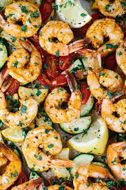 How To Make Roasted Vegetables by One Pan Roasted Spicy Garlic Shrimp With Lemon Jessica Gavin