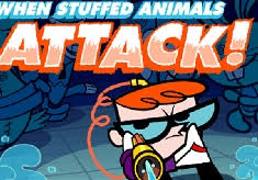 dexter laboratory stuffed animals attack dexter laboratory