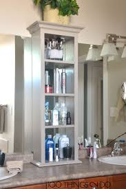 Bathroom Furniture Small Spaces Bathroom Cabinets Small Space Bathroom Vanity With Side Cabinet