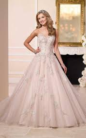 low back strapless sweetheart applique lace a line wedding dress