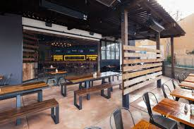 interior creative industrial restaurant decorating ideas with