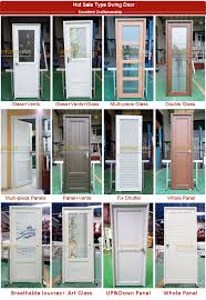 Cafe Swinging Doors Transparent Plastic Hing Louvered For Comfort Room Swinging Cafe
