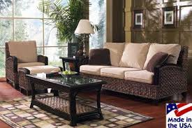 American Made Living Room Furniture - rattan u0026 wicker furniture made in the usa choose from living room