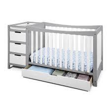 Graco Convertible Crib Bed Rail Convertible Cribs Rustic Bedroom Storage Drawer Kalani 4in1