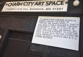 local punk institution charm city art space suddenly faces an