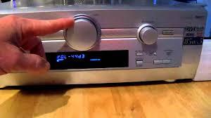 panasonic receivers home theater pioneer sa he9 receiver movie 2 youtube