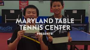 maryland table tennis center maryland table tennis butterfly open youtube
