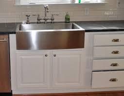 Farm Sink Kitchen Blue Kitchen Theme Plus Sinks Farmhouse Apron Gougleri