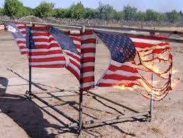 How To Fold A Flag For Hoisting Burning Is Proper Etiquette For American Flag Disposal The