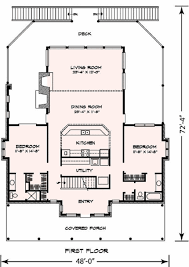 cottage style house plan 3 beds 3 baths 2398 sq ft plan 140 130