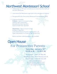 winter open house nwmontessori