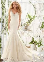Ivory Wedding Dresses Crystal Beaded Lace Appliques Low V Back Ivory Wedding Dress 2016