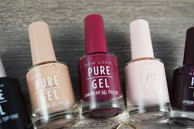 new look pure colour pure gel nail polishes a life with frills