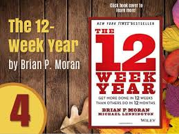 12 week year book 4 the 12 week year