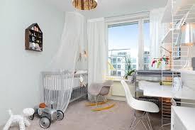 moquette chambre bébé design interieur decoration chambre bebe papier peint pastel ciel