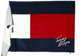 Tommy Hilfiger Flag Tommy Hilfiger Beach Towel Badetuch Strandtuch Saunatuch 100x180cm